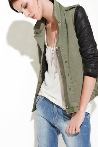 jacket leather blouse zara miltary jakcet army green jacket military style olive green greenteanosugar zara jacket