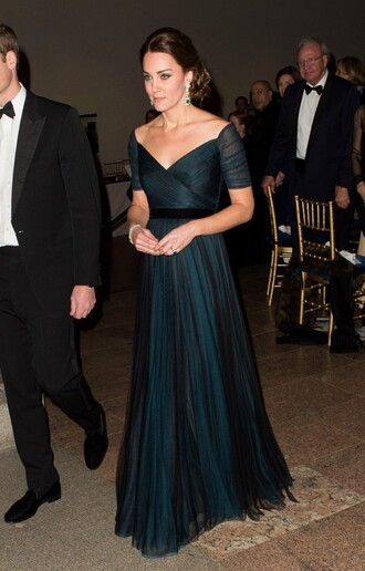 dress gown kate middleton prom dress