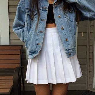 skirt white pleated pleated skirt mini skirt short skirt white skirt high waisted skirt