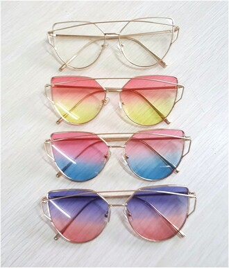 sunglasses sun pink sunglasses summer summer holidays accessories girly