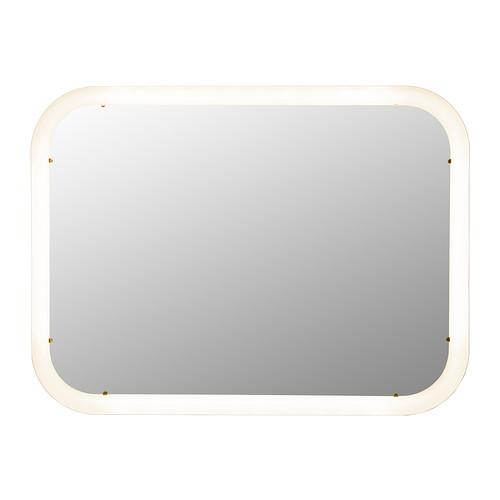 STORJORM Mirror with built-in lighting - IKEA