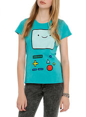 t-shirt,beemo,adventure time shirt