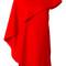 Givenchy - asymmetric sleeve dress - women - silk/spandex/elastane/acetate/viscose - 36, red, silk/spandex/elastane/acetate/viscose