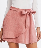 skirt,girly,pink,mini,mini skirt,suede,suede skirt