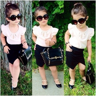 shoes girl toddler kids shoes ruffle shirt valentino kids valentino valentino kids kids fashion sunglasses valentino shoes studded studded bag skirt split skirt