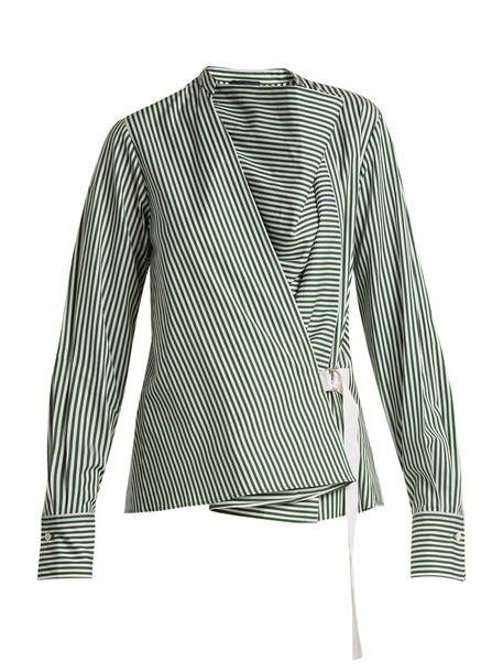Joseph shirt green top