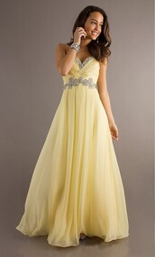 dress,prom,real,yellow,pink,heartshaped,prom dress,ball gown dress,sequins,genuine,desperate