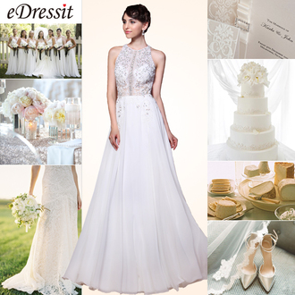 dress edressit fashion beautiful wedding beaded love bride bridesmad
