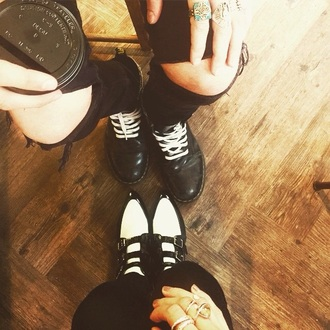 shoes black white eleanor calder instagram jimmy choo