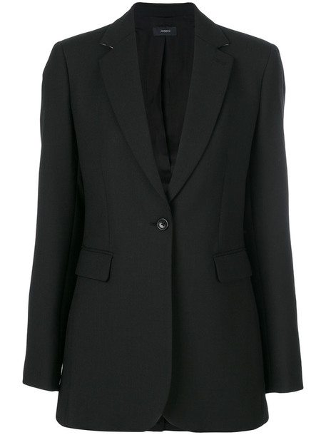 Joseph blazer women black wool jacket