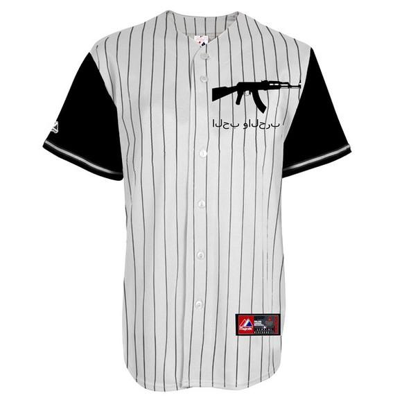 gun t-shirt baseball tee new nowthatslegit dope rifle