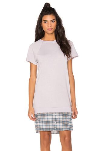 dress sweatshirt dress light