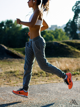 pants sweatpants leggings running shoes run sportswear