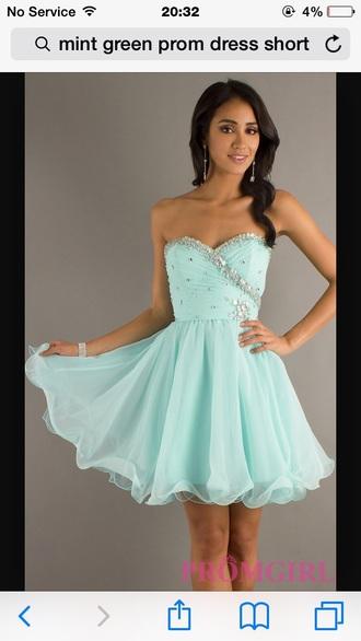 dress mint dress mint dress prom cute