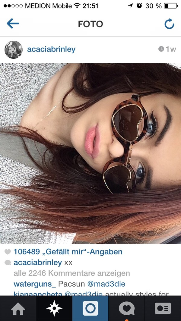 sunglasses acacia brinley