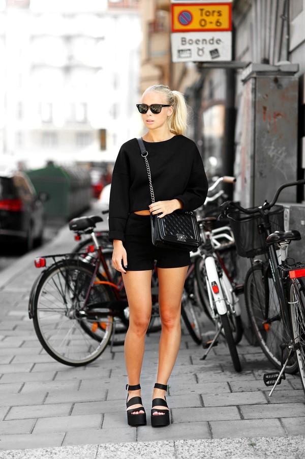 victoria tornegren shoes top bag sunglasses