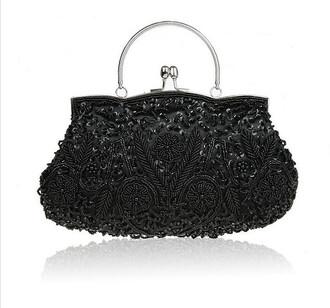 bag bags and purses retro beautiful hot black women handbag