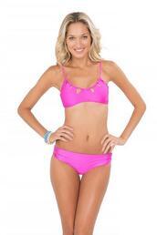 top,bra style top,cut-out,hot pink,luli fama,removable padding,bikiniluxe