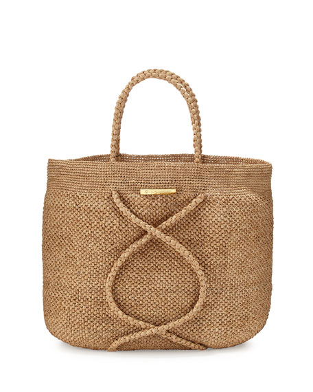 Vix X Straw Beach Bag, Natural