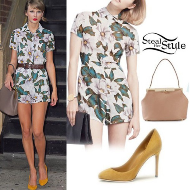blouse taylor swift skirt high heels
