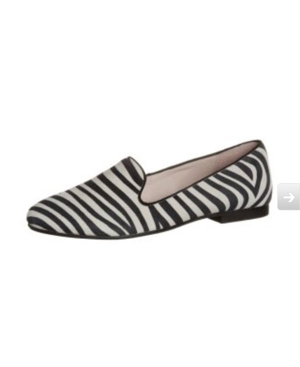 shoes zebra loafers flats smoking slippers