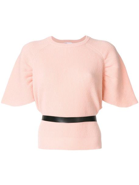 RED VALENTINO jumper women cotton wool purple pink sweater