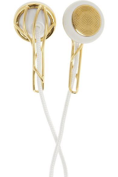 Frends | Ella gold-tone earphones | NET-A-PORTER.COM