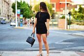 the 109 block,blogger,skirt,t-shirt,bag,shoes