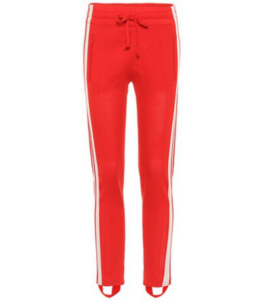 Isabel Marant, Étoile Doriann stirrup trousers in red