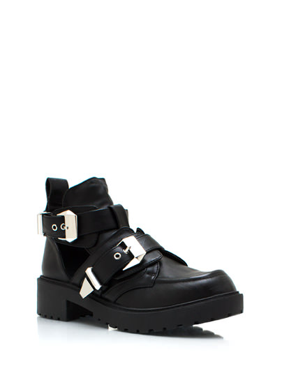 Out grunge boots $43.20 in black