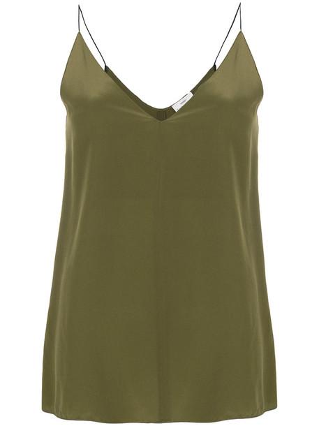 Forte Forte camisole women silk green underwear
