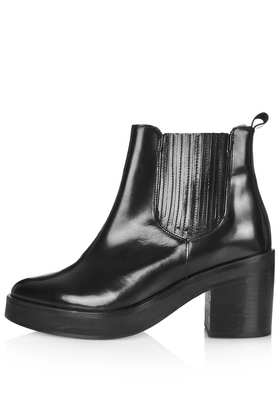 PUNK Premium Chelsea Boots - Heeled Boots - Boots  - Shoes - Topshop