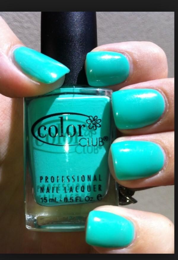 nail polish the color club