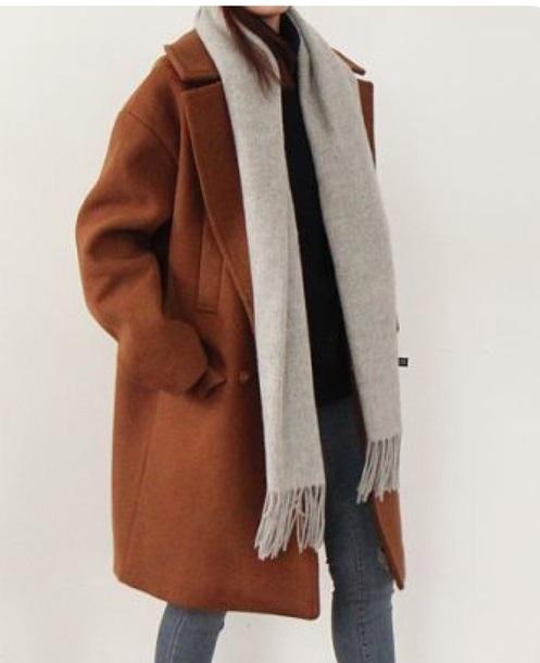 coat wool coat brown camel coat long coat