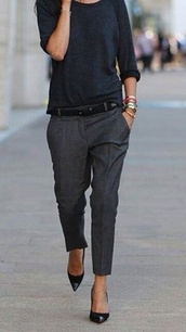 pants,top,where to get these outfits,grey,trouser,shirt,t-shirt,black trousers,grey pants,men style,boyfriend jeans,elegant
