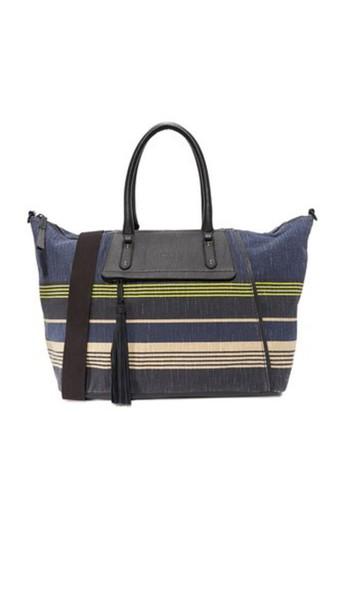 Splendid Salinas Weekender Bag - Navy Stripe