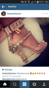 shoes,nude,bling,dsquared,heels,lock,high heels,stilettos