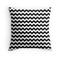 """""""black and white chevron zigzag stripes"""