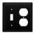 Wrought Iron Plain Switch & Outlet Cover $14.91