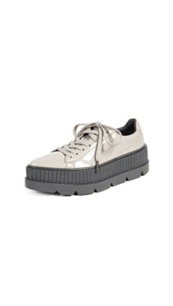 puma sneakers grey shoes