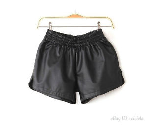 Faux Leather Shorts | eBay