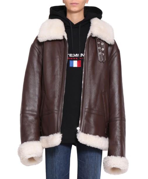 Vetements jacket oversized jacket oversized