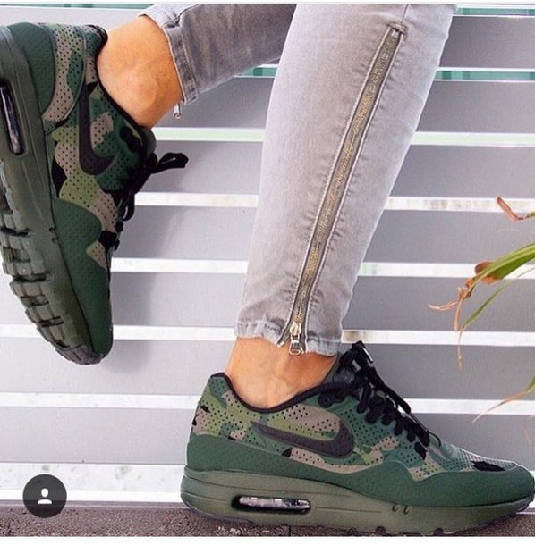 the latest 14dd0 18559 shoes nike nike shoes air max military style camouflage urban outfitters  girly streetstyle