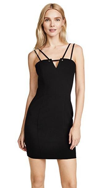Black Halo dress mini dress mini black