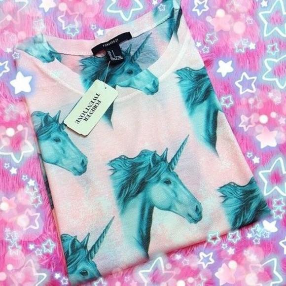 unicorn t-shirt forever 21