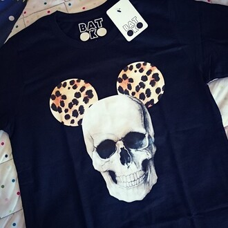 t-shirt batoko hipster skull hallow mouse www.batoko.com cool summer wardrobe celebs style chic summer outfits beach holidays comfy