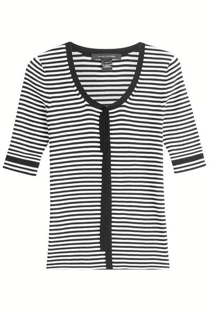 pullover cotton stripes sweater