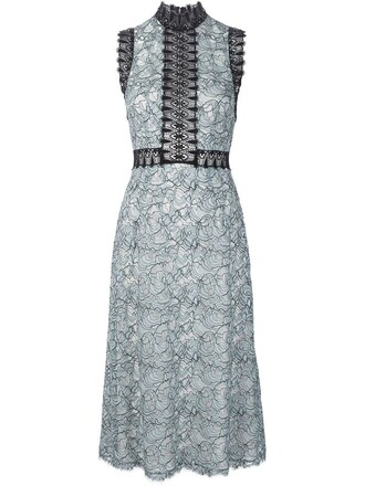 dress lace dress lace blue