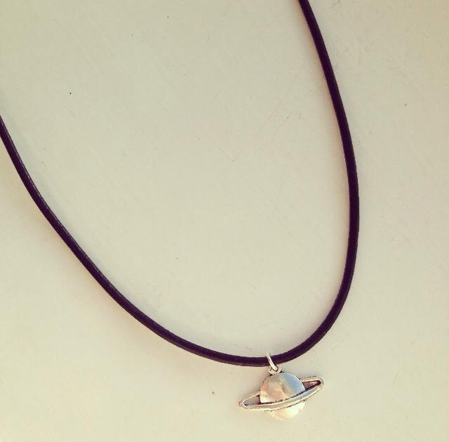 Saturn planet choker / Dead Sea Jewellery
