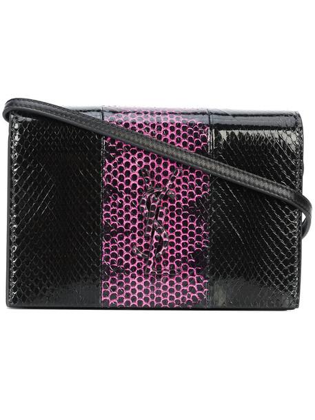 Saint Laurent women bag leather black